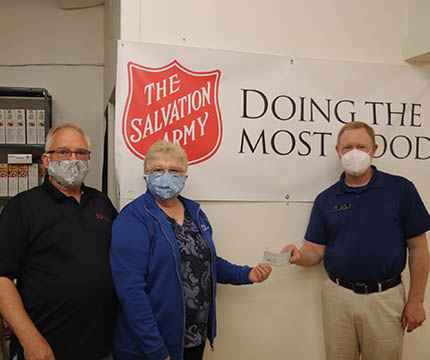 Chapter W109 Salvation Army Breadon of life Chilton WI