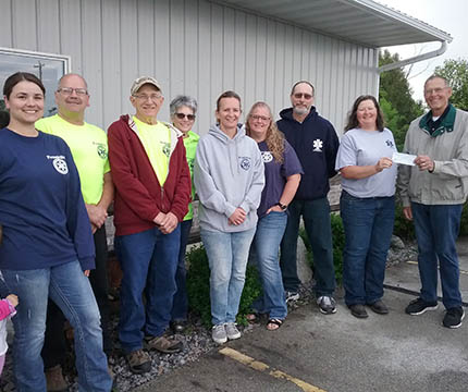 Chapter 139 Franklin County Responders Kewaunee WI
